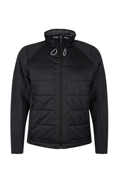 Mountain all-rounder made of fine Italian wool fleece and padded nylon