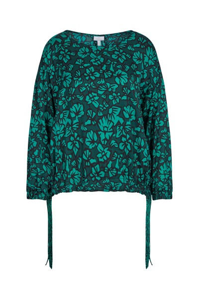 Wide, loosely cut blouse in an all-over print