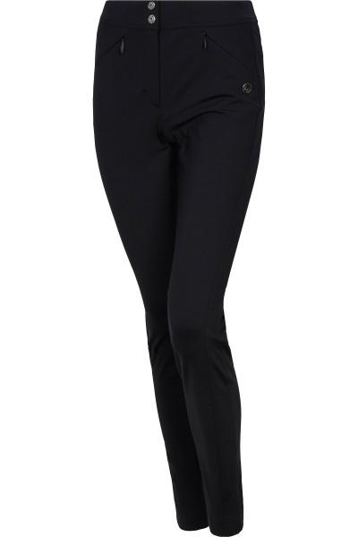 Pants with figure-hugging seams
