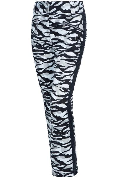 Ski pants in tiger look