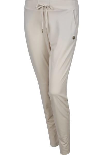 Jogging pants with drawstring and band