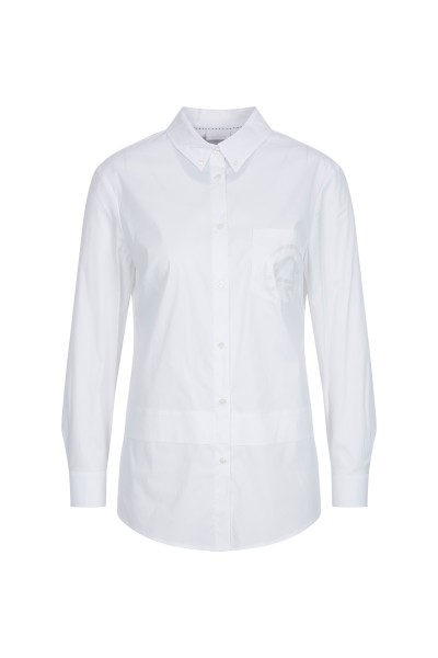 Casual shirt blouse with sophisticated details