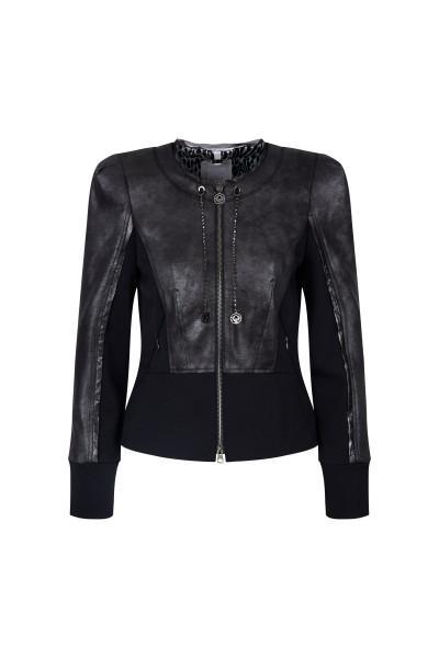 Jacket made of Imitation leather