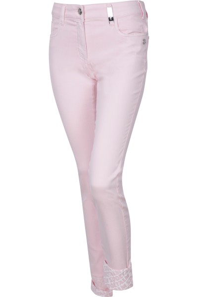 Skinny jeans with logo detail
