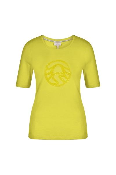 Shirt als glitzernder Blickfang