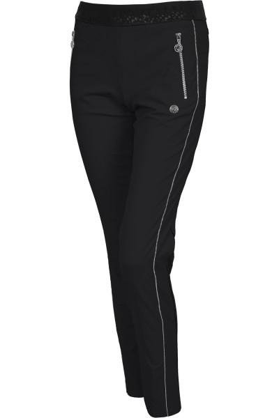 Sportive Hose mit seitlichen Streifen