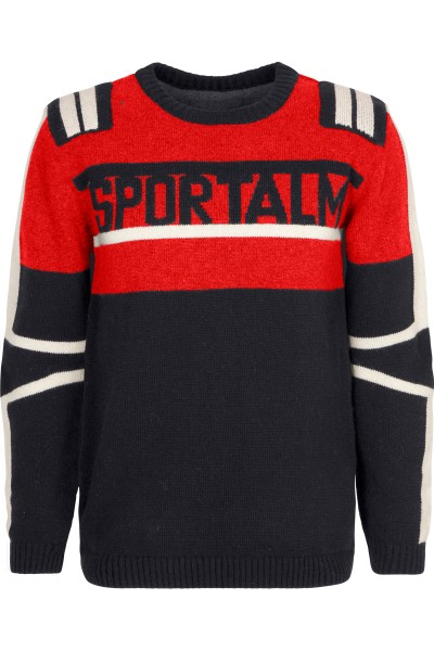 Ski sweater in retro look