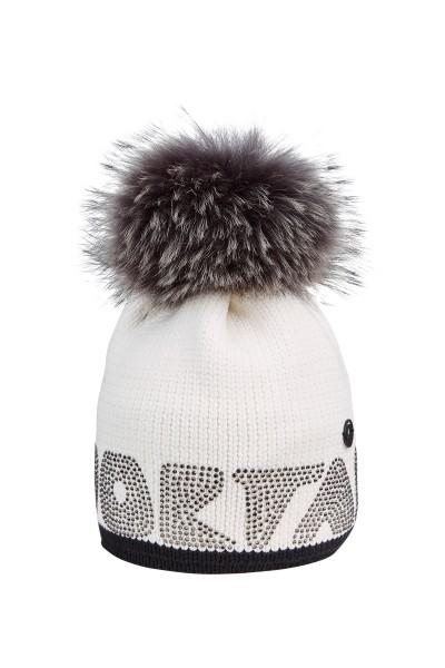 Mütze in Nylon-Garn