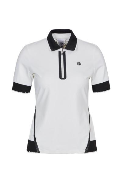 Polo mit Strickbündchen